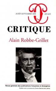 ادبیات فرانسه قرن 20, الن روب گریه
