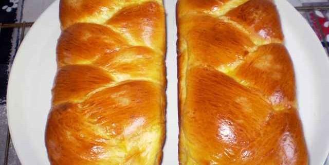 طرز تهیه بریوش ترسه شیرینی فرانسوی